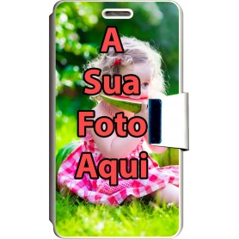 Capa Flip Personalizada Aquaris 5 HD