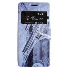 Capa Flip Janela Eiffel Galaxy Pocket 2 / Duos
