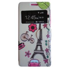 Capa Flip Janela Paris Galaxy Fresh / Trend Lite / Duos