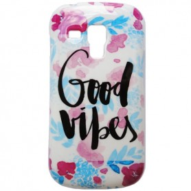 Capa Gel Good Vibes Galaxy S Duos / 2 / Trend / Plus