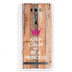 Capa Gel Keep Calm Zenfone 2 Laser 6.0 (ZE601KL)