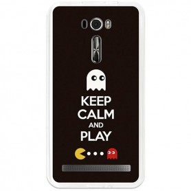 Capa Gel Keep Calm 2 Zenfone 2 Laser 6.0 (ZE601KL)