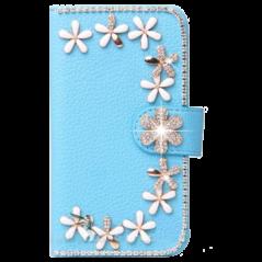 Capa Flip Flores Xperia Miro