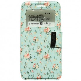 Capa Flip Janela Flores One Touch Pop 3 5'' / Smart Grand 6