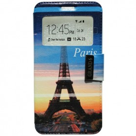 Capa Flip Janela Paris One Touch Pop 3 5'' / Smart Grand 6