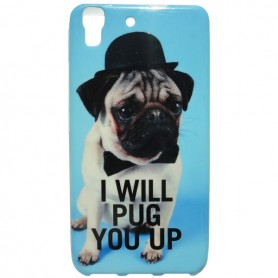 Capa Gel Pug Ascend Y6