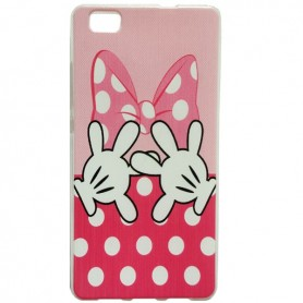 Capa Gel Minnie Ascend P8 Lite