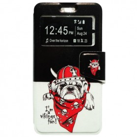 Capa Flip Janela Bulldog One Touch Pop 3 5'' / Smart Grand 6