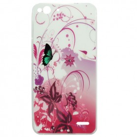 Capa Gel Flores Smart Ultra 6