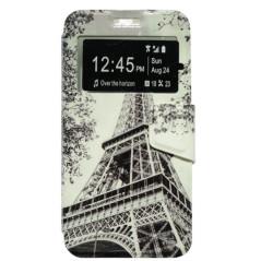 Capa Flip Janela Eiffel One Touch Pixi 3 5''
