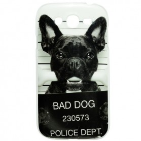 Capa Gel Bad Dog Galaxy Grand / Neo / Duos / Plus