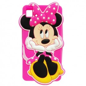 Capa Silicone Minnie Aquaris E5 / HD / FHD