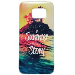 Capa Gel Summer Story Galaxy S7 Edge
