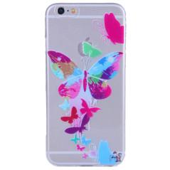 Capa Gel Borboletas iPhone 6 Plus / 6s Plus