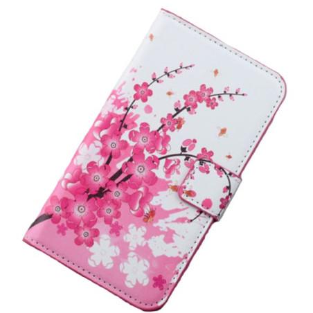 Capa Flip Flores Galaxy Note 4