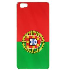 Capa Gel Portugal Ascend P8 Lite