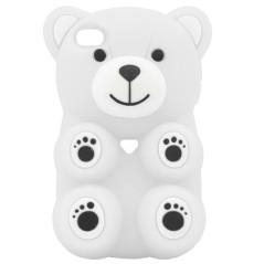 Capa Silicone 3D Urso Galaxy S4
