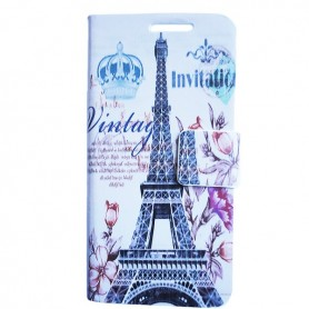 Capa Flip Paris Galaxy S4 Mini