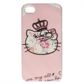 Capa Hello Kitty 3 iPhone 4 / 4s