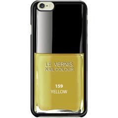 Capa Verniz Amarelo iPhone 5 / 5s / SE