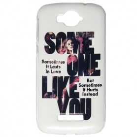 Capa Gel Adele One Touch Pop C7