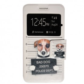 Capa Flip Janela Bad Dog Galaxy A5 (2016)