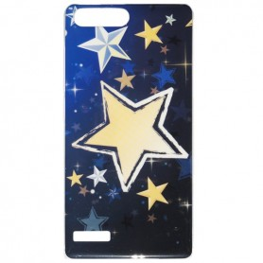 Capa Gel Estrelas Ascend G6 / Gova / 4G / P7 Mini / G535