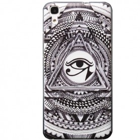 Capa Gel All Seeing Eye Ascend Y6