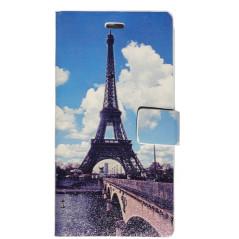 Capa Flip Eiffel Xperia L