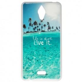 Capa Gel Live It One Touch Pixi 4 (6) Single Sim (Um Sim)