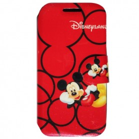 Capa Flip Mickey Galaxy S4 Mini