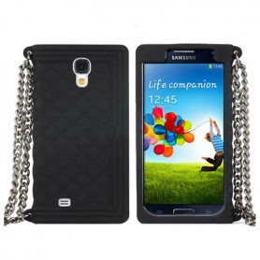 Capa Silicone Carteira Galaxy S4