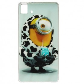 Capa Gel Minion Aquaris E5 / HD /FHD