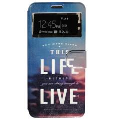 Capa Flip Janela Life Galaxy J5 2016
