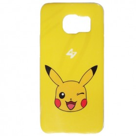 Capa Gel Pokemon Pikachu Galaxy S7 Edge