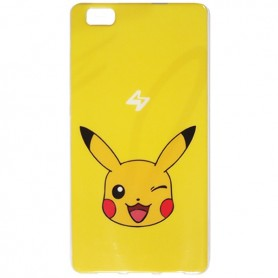 Capa Gel Pokemon Pikachu Ascend P8 Lite