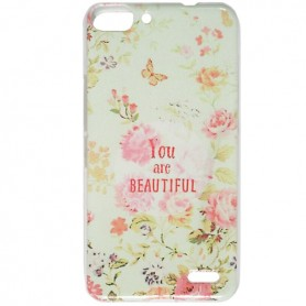 Capa Gel Flores 2 Smart Ultra 6