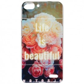 Capa Gel Flores 3 Smart Ultra 6