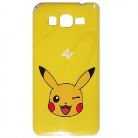 Capa Gel Pokemon Pikachu Galaxy Grand Prime