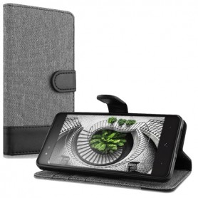 Capa Flip 2 Aquaris X5 Plus