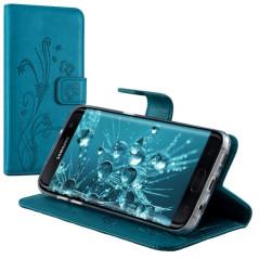 Capa Flip Borboletas Galaxy S7 Edge