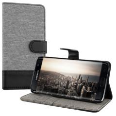 Capa Flip Faixa Galaxy S7 Edge