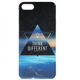 Capa Gel Think Different iPhone 7
