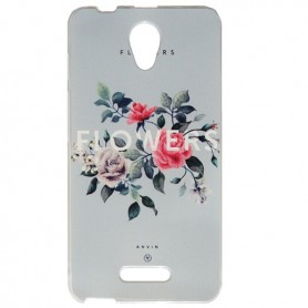 Capa Gel Flores One Touch Pop 4