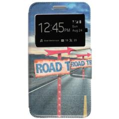 Capa Flip Janela Road Trip One Touch Pixi 4 (5) 3G